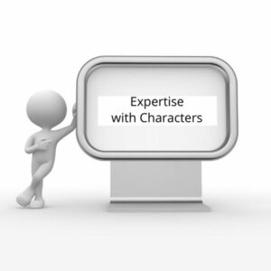 Expertise with Characters